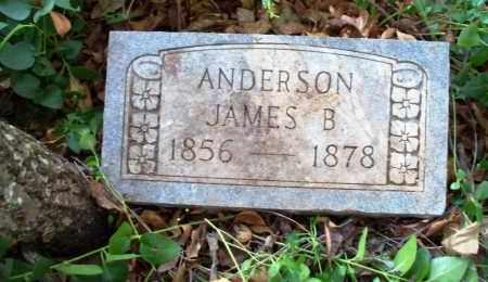 ANDERSON, JAMES B - Sebastian County, Arkansas | JAMES B ANDERSON - Arkansas Gravestone Photos