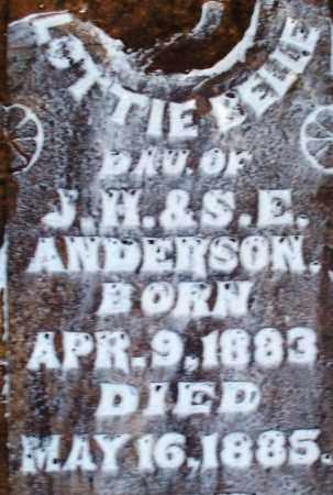 ANDERSON, LOTTIE BELLE - Sebastian County, Arkansas   LOTTIE BELLE ANDERSON - Arkansas Gravestone Photos
