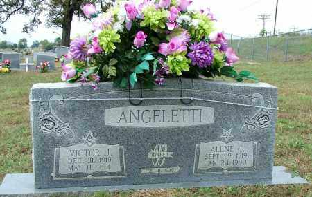 ANGELETTI, ALENE C - Sebastian County, Arkansas | ALENE C ANGELETTI - Arkansas Gravestone Photos