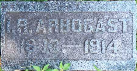 ARBOGAST, I.R. - Sebastian County, Arkansas | I.R. ARBOGAST - Arkansas Gravestone Photos