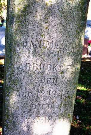 ARBUCKLE, ARANIMEA A. - Sebastian County, Arkansas   ARANIMEA A. ARBUCKLE - Arkansas Gravestone Photos