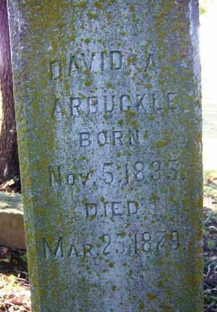 ARBUCKLE, DAVID A. - Sebastian County, Arkansas | DAVID A. ARBUCKLE - Arkansas Gravestone Photos