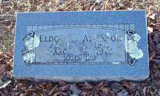ATKINSON, ELDON GLENN - Sebastian County, Arkansas | ELDON GLENN ATKINSON - Arkansas Gravestone Photos