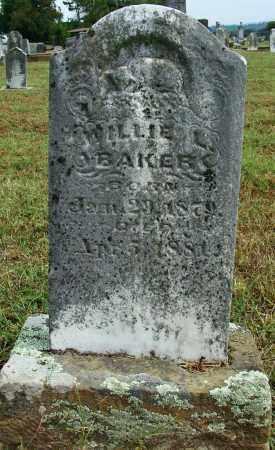 BAKER, WILLIE L - Sebastian County, Arkansas | WILLIE L BAKER - Arkansas Gravestone Photos