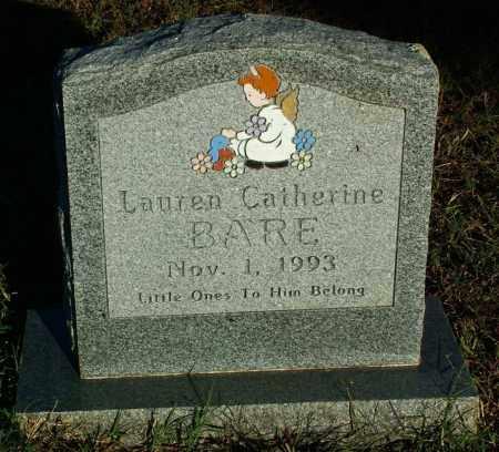 BARE, LAUREN CATHERINE - Sebastian County, Arkansas | LAUREN CATHERINE BARE - Arkansas Gravestone Photos