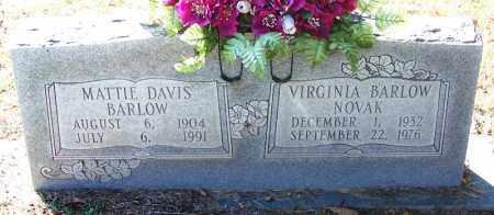 BARLOW, MATTIE - Sebastian County, Arkansas | MATTIE BARLOW - Arkansas Gravestone Photos