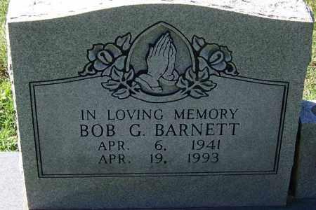 BARNETT, BOB G - Sebastian County, Arkansas   BOB G BARNETT - Arkansas Gravestone Photos