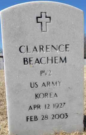 BEACHEM (VETERAN KOR), CLARENCE - Sebastian County, Arkansas | CLARENCE BEACHEM (VETERAN KOR) - Arkansas Gravestone Photos