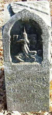 BELL, MARSHAL - Sebastian County, Arkansas   MARSHAL BELL - Arkansas Gravestone Photos