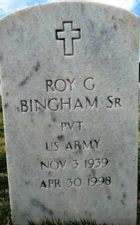 BINGHAM, SR (VETERAN), ROY G - Sebastian County, Arkansas | ROY G BINGHAM, SR (VETERAN) - Arkansas Gravestone Photos