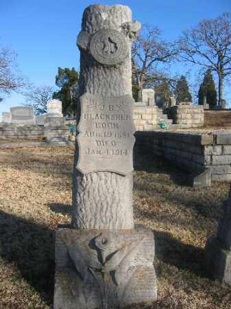 BLACKSHER, J. B. - Sebastian County, Arkansas   J. B. BLACKSHER - Arkansas Gravestone Photos