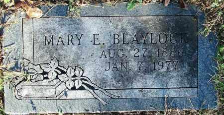 BLAYLOCK, MARY E - Sebastian County, Arkansas | MARY E BLAYLOCK - Arkansas Gravestone Photos