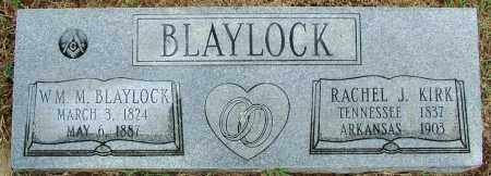 BLAYLOCK, WM M. - Sebastian County, Arkansas | WM M. BLAYLOCK - Arkansas Gravestone Photos