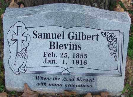 BLEVINS, SAMUEL GILBERT - Sebastian County, Arkansas | SAMUEL GILBERT BLEVINS - Arkansas Gravestone Photos