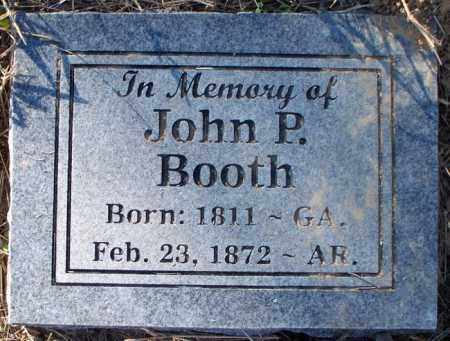 BOOTH, JOHN PINKNEY - Sebastian County, Arkansas | JOHN PINKNEY BOOTH - Arkansas Gravestone Photos