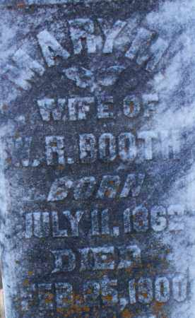 BOOTH, MARY M (2) - Sebastian County, Arkansas | MARY M (2) BOOTH - Arkansas Gravestone Photos