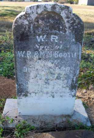 BOOTH, W. R. - Sebastian County, Arkansas   W. R. BOOTH - Arkansas Gravestone Photos
