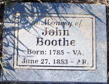BOOTHE, JOHN - Sebastian County, Arkansas | JOHN BOOTHE - Arkansas Gravestone Photos