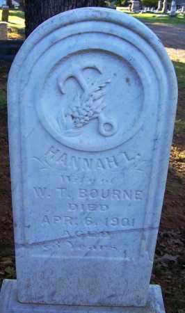 BOURNE, HANNAH L - Sebastian County, Arkansas | HANNAH L BOURNE - Arkansas Gravestone Photos