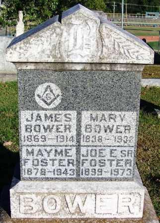 BOWER, JAMES - Sebastian County, Arkansas | JAMES BOWER - Arkansas Gravestone Photos