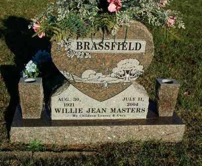 MASTERS BRASSFIELD, WILLIE JEAN - Sebastian County, Arkansas | WILLIE JEAN MASTERS BRASSFIELD - Arkansas Gravestone Photos