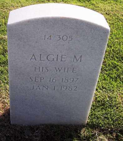 BREWER, ALGIE - Sebastian County, Arkansas   ALGIE BREWER - Arkansas Gravestone Photos
