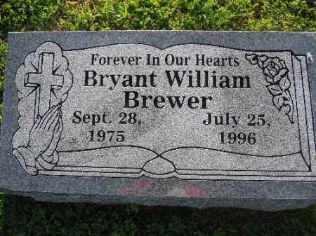 BREWER, BRYANT WILLIAM - Sebastian County, Arkansas | BRYANT WILLIAM BREWER - Arkansas Gravestone Photos
