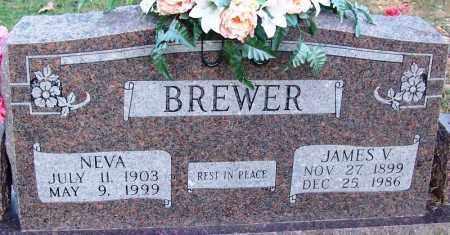 BREWER, NEVA - Sebastian County, Arkansas | NEVA BREWER - Arkansas Gravestone Photos