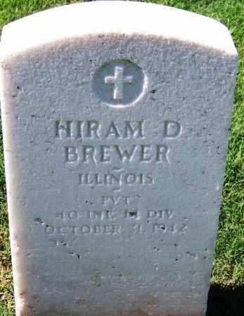 BREWER (VETERAN WWI), HIRAM D - Sebastian County, Arkansas | HIRAM D BREWER (VETERAN WWI) - Arkansas Gravestone Photos