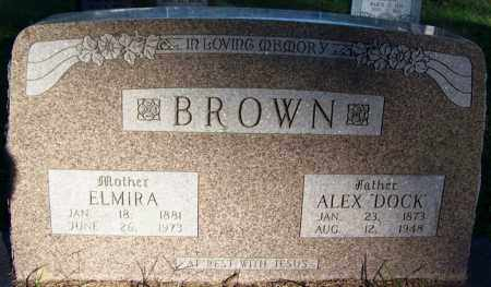 BROWN, ELMIRA - Sebastian County, Arkansas | ELMIRA BROWN - Arkansas Gravestone Photos