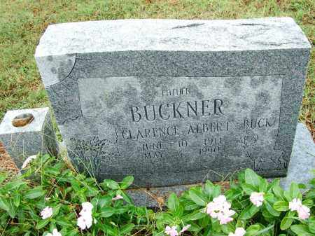"BUCKNER, CLARENCE ALBERT ""BUCK"" - Sebastian County, Arkansas   CLARENCE ALBERT ""BUCK"" BUCKNER - Arkansas Gravestone Photos"