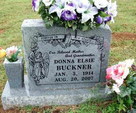 BUCKNER, DONNA ELSIE - Sebastian County, Arkansas | DONNA ELSIE BUCKNER - Arkansas Gravestone Photos