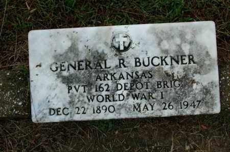 BUCKNER (VETERAN WWI), GENERAL R - Sebastian County, Arkansas   GENERAL R BUCKNER (VETERAN WWI) - Arkansas Gravestone Photos