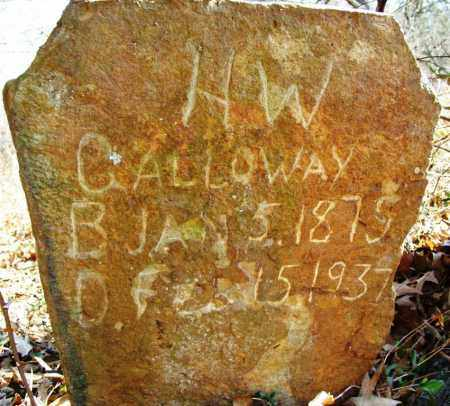 CALLOWAY, H W - Sebastian County, Arkansas | H W CALLOWAY - Arkansas Gravestone Photos