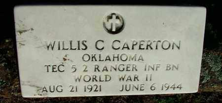 CAPERTON (VETERAN WWII), WILLIS C - Sebastian County, Arkansas | WILLIS C CAPERTON (VETERAN WWII) - Arkansas Gravestone Photos