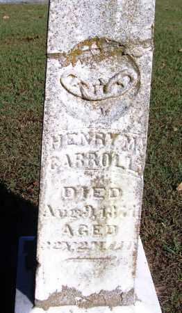 CARROLL, HENRY M. - Sebastian County, Arkansas | HENRY M. CARROLL - Arkansas Gravestone Photos