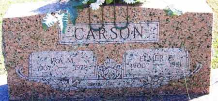 CARSON, IRA M - Sebastian County, Arkansas | IRA M CARSON - Arkansas Gravestone Photos