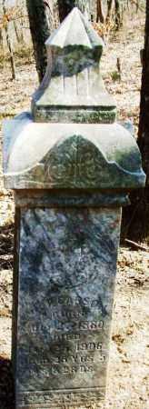 CARSON, MILT - Sebastian County, Arkansas   MILT CARSON - Arkansas Gravestone Photos