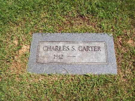 CARTER, CHARLES SAMUEL - Sebastian County, Arkansas   CHARLES SAMUEL CARTER - Arkansas Gravestone Photos
