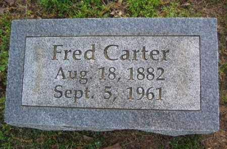 CARTER, FRED - Sebastian County, Arkansas | FRED CARTER - Arkansas Gravestone Photos