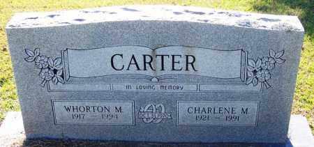 CARTER, WHORTON - Sebastian County, Arkansas | WHORTON CARTER - Arkansas Gravestone Photos