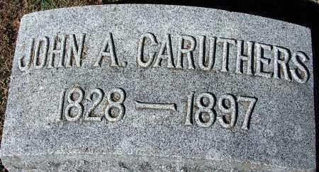 CARUTHERS, JOHN A. - Sebastian County, Arkansas | JOHN A. CARUTHERS - Arkansas Gravestone Photos