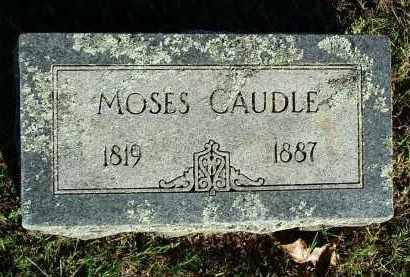 CAUDLE, MOSES - Sebastian County, Arkansas   MOSES CAUDLE - Arkansas Gravestone Photos