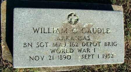 CAUDLE (VETERAN WWI), WILLIAM C - Sebastian County, Arkansas | WILLIAM C CAUDLE (VETERAN WWI) - Arkansas Gravestone Photos