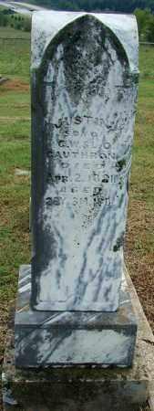 CAUTHRON, JUSTIN - Sebastian County, Arkansas   JUSTIN CAUTHRON - Arkansas Gravestone Photos