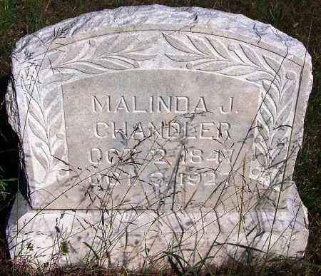 CHANDLER, MALINDA J. - Sebastian County, Arkansas   MALINDA J. CHANDLER - Arkansas Gravestone Photos