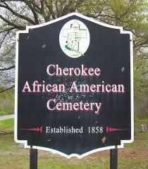 *CHEROKEE AFRICAN AMERICAN SIG,  - Sebastian County, Arkansas |  *CHEROKEE AFRICAN AMERICAN SIG - Arkansas Gravestone Photos