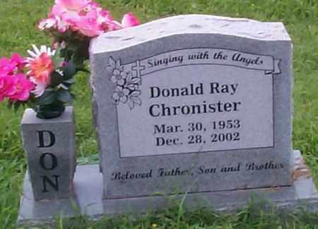 CHRONISTER, DONALD RAY - Sebastian County, Arkansas | DONALD RAY CHRONISTER - Arkansas Gravestone Photos