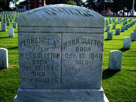 CLAYTON, FLORENCE A - Sebastian County, Arkansas | FLORENCE A CLAYTON - Arkansas Gravestone Photos