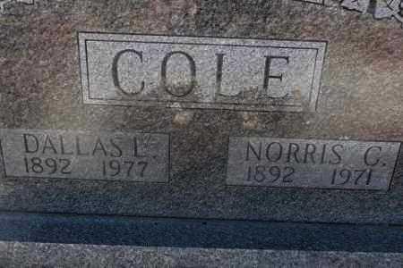 COLE, DALLAS L - Sebastian County, Arkansas | DALLAS L COLE - Arkansas Gravestone Photos